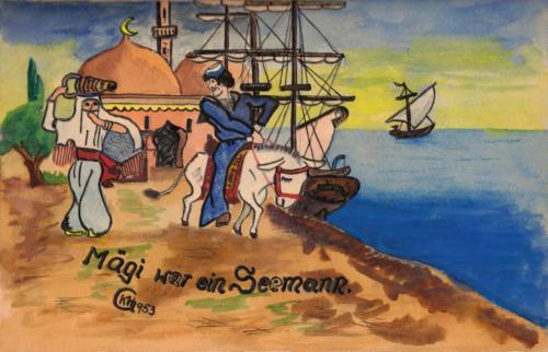 Mägi war ein Seemann 1953