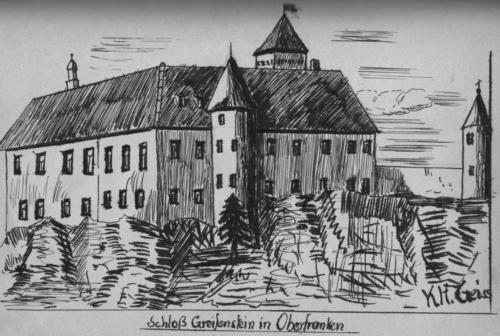 Schloß Greifenstein in Oberfranken 1950