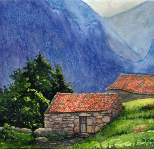 Alte Steinberghütte
