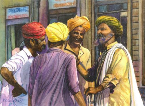 Vier Inder