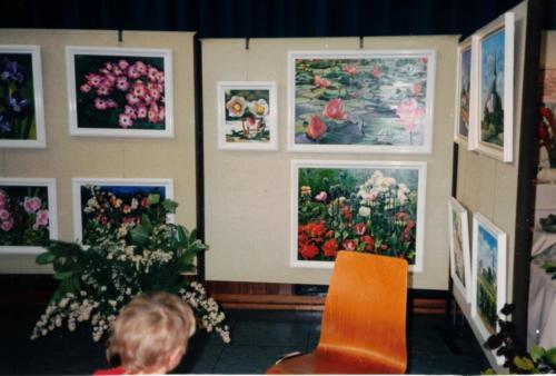 Kunst-Ausstellung K-H Geiss Gustavsburg