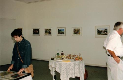 Kunst-Ausstellung K-H Geiss Fa. Rockendorf Kostheim