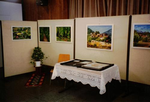 Kunst-Ausstellung K-H Geiss Ginsheim