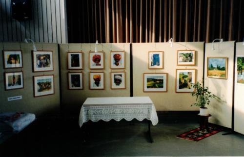 Kunst-Ausstellung K-H Geiss Ginsheim1