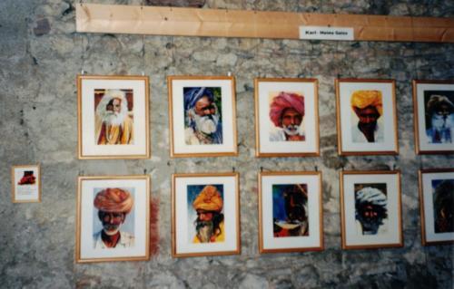 Kunst-Ausstellung K-H Geiss Nierstein