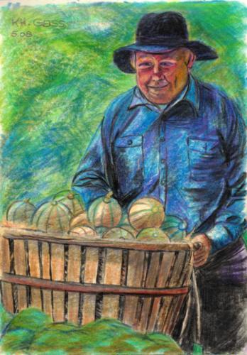 Der Melonen-Mann